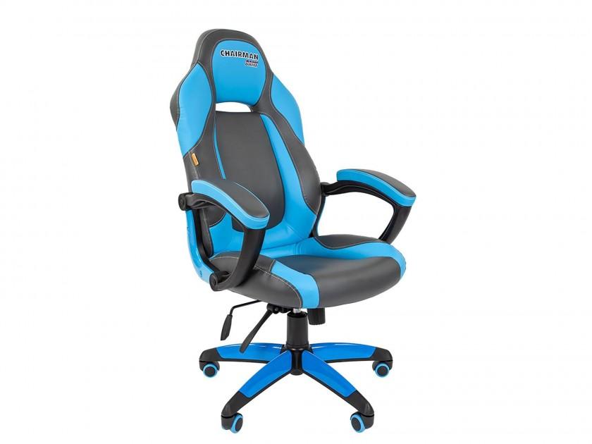 офисное кресло Офисное кресло Chairman GAME 20 Chairman GAME 20 компьютерное кресло chairman game 8 черно синий