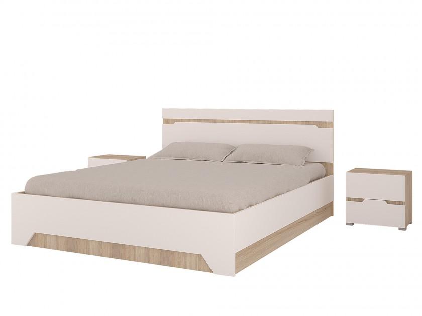 кровать Кровать (160х200) с ПМ и 2 тумбы Анталия Анталия