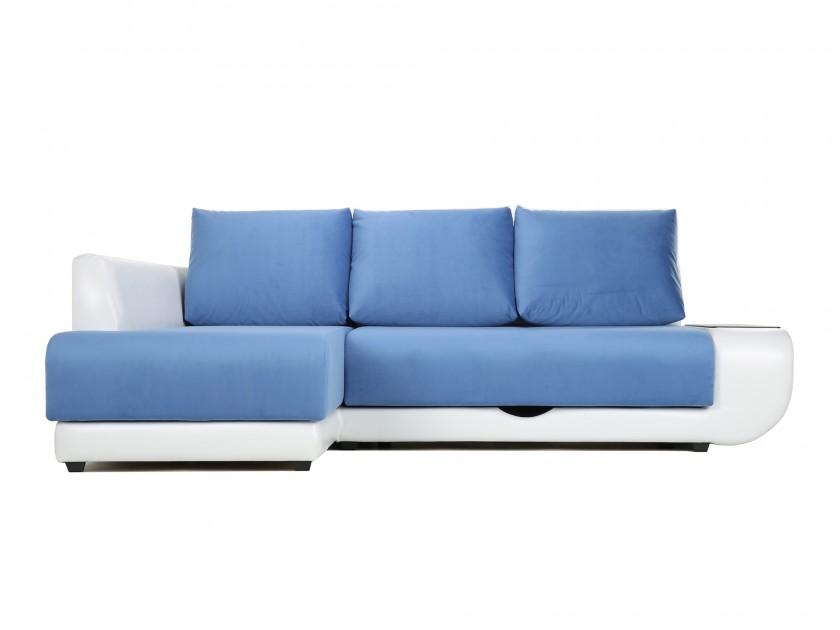 диван Угловой диван с независимым пружинным блоком ПолоLUXНПБ (Нью-Йорк) Левый Поло (Нью-Йорк)