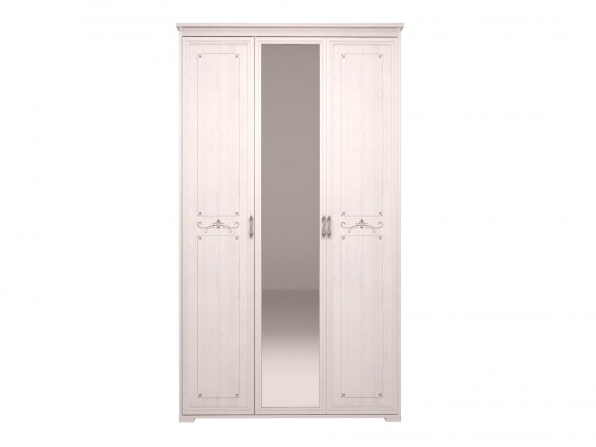 распашной шкаф Шкаф для платья и белья 3-х дв с зеркалом Афродита Афродита