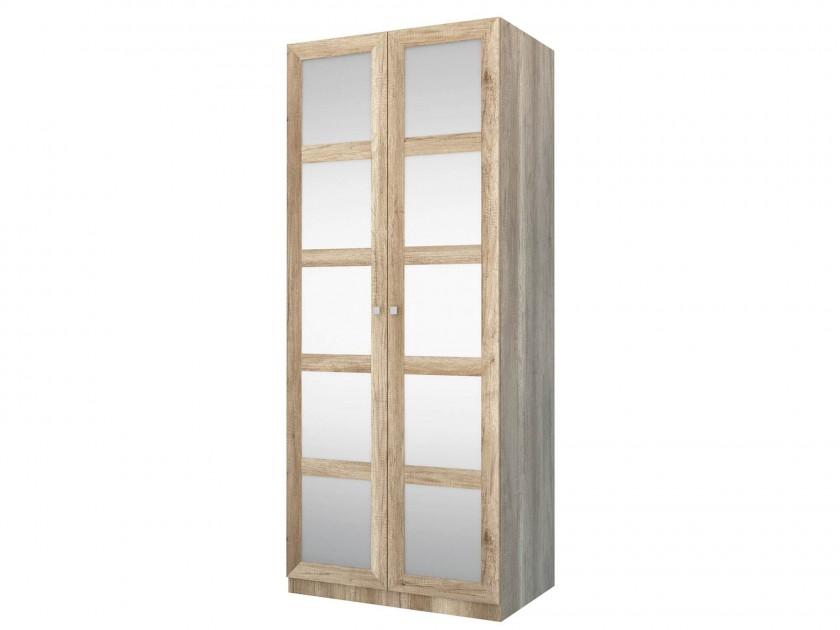 распашной шкаф Шкаф 2-х дверный с зеркалом Оскар