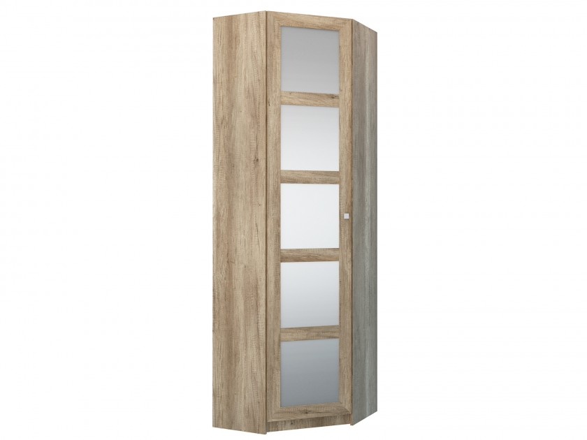 распашной шкаф Угловой шкаф с зеркалом Оскар Оскар
