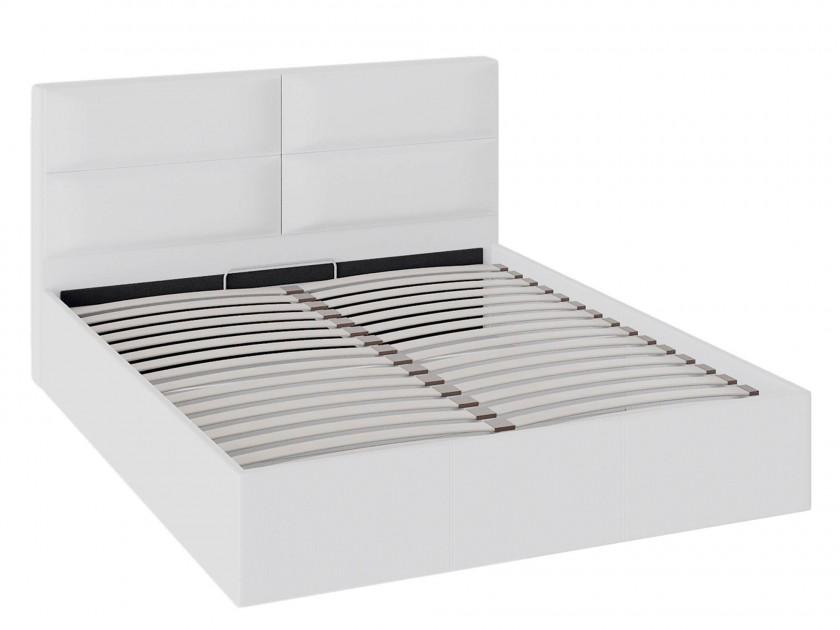 кровать Кровать с мягкой обивкой и ПМ Глосс (160х200) Глосс кровати с мягкой обивкой