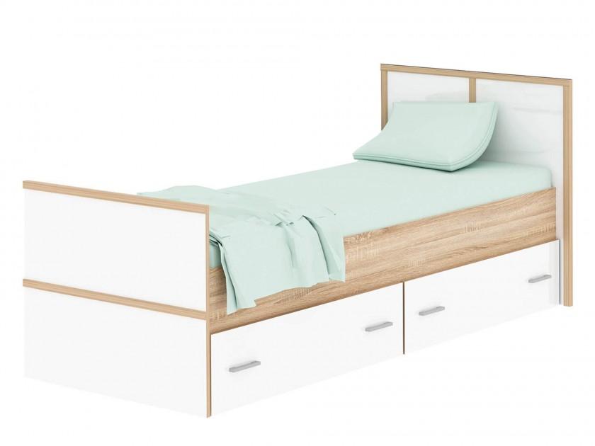 кровать Кровать с ящиками Сакура (90х200) Сакура