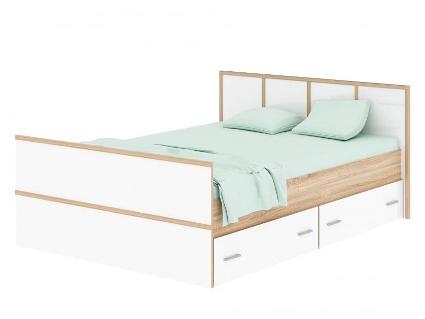 кровать Кровать с ящиками Сакура (140х200) Сакура