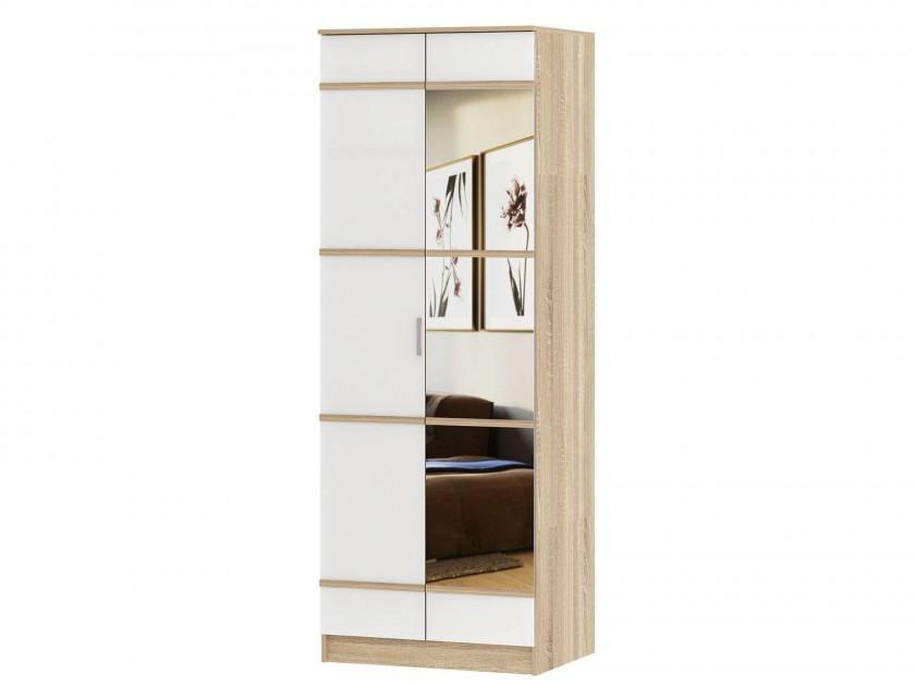 Шкаф 2-х створчатый с зеркалом Сакура Сакура