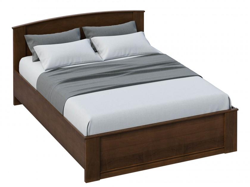 цена на кровать Кровать без изножья Марта (160х200) Марта в цвете Орех