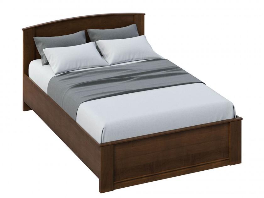 цена на кровать Кровать без изножья Марта (140х200) Марта в цвете Орех