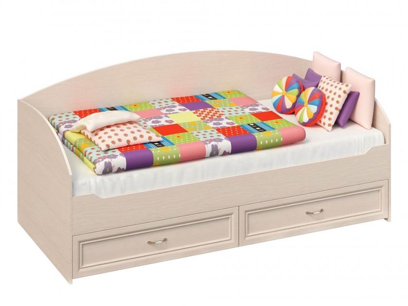 цена на кровать Кровать с выдвижными ящиками Марта (90х200) Марта в цвете Дуб