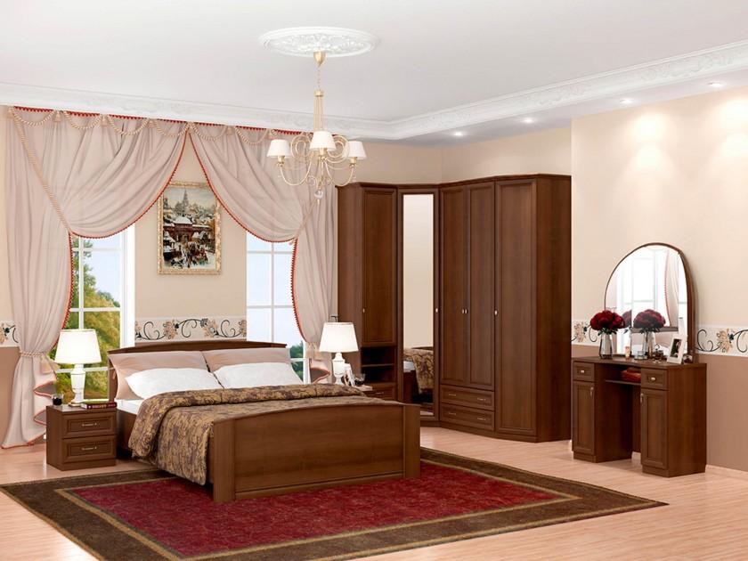спальный гарнитур Спальня Марта Марта в цвете Орех