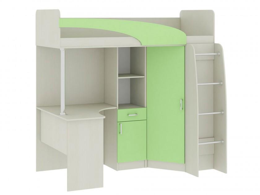 кровать Кровать-чердак со шкафом и столом Николь (80х200) Николь детские кровати чердаки со столом и шкафом