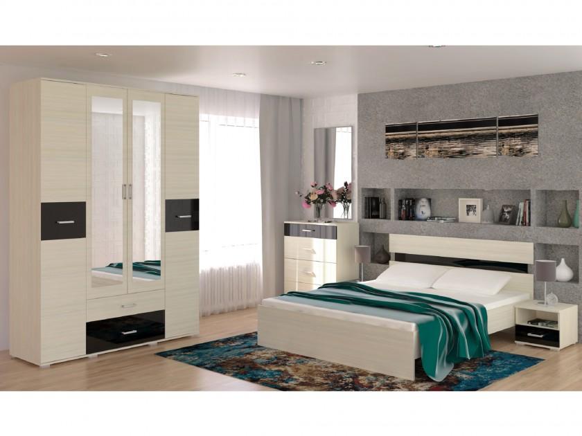 спальный гарнитур Спальня Техно Техно в цвете Сосна карелия