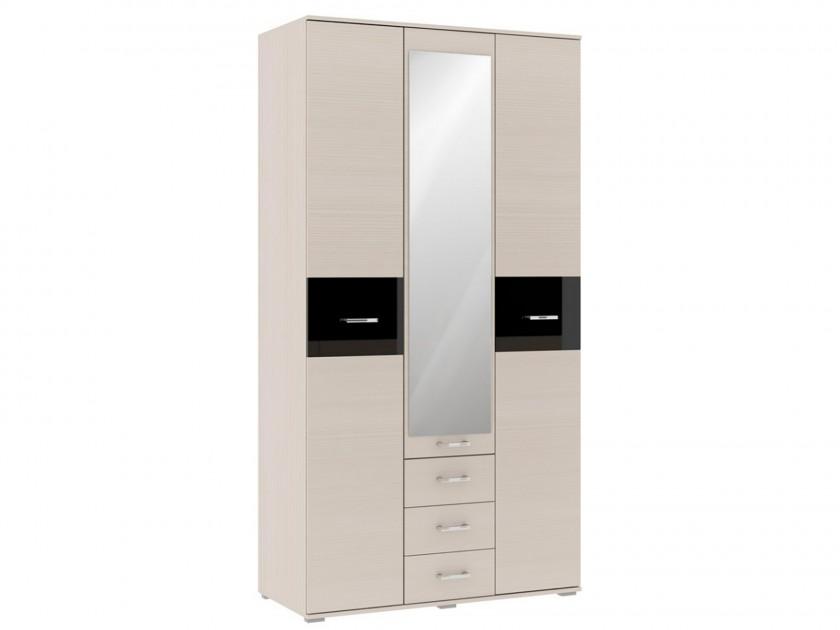 распашной шкаф Шкаф 3-х дверный Техно Техно в цвете Сосна карелия