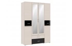 Распашной шкаф Техно в цвете Сосна карелия
