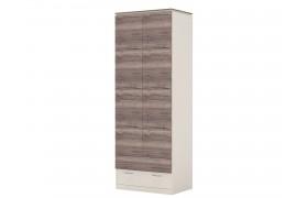 Шкаф Шкаф 2-х дверный с ящиками Presto (штанга, полки)