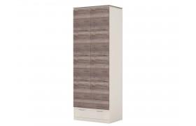 Шкаф Шкаф 2-х дверный с ящиками Presto (штанга)