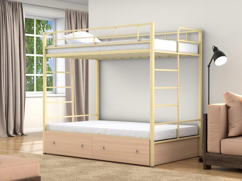 кровать Двухъярусная кровать Валенсия (120х190/120х190) Валенсия