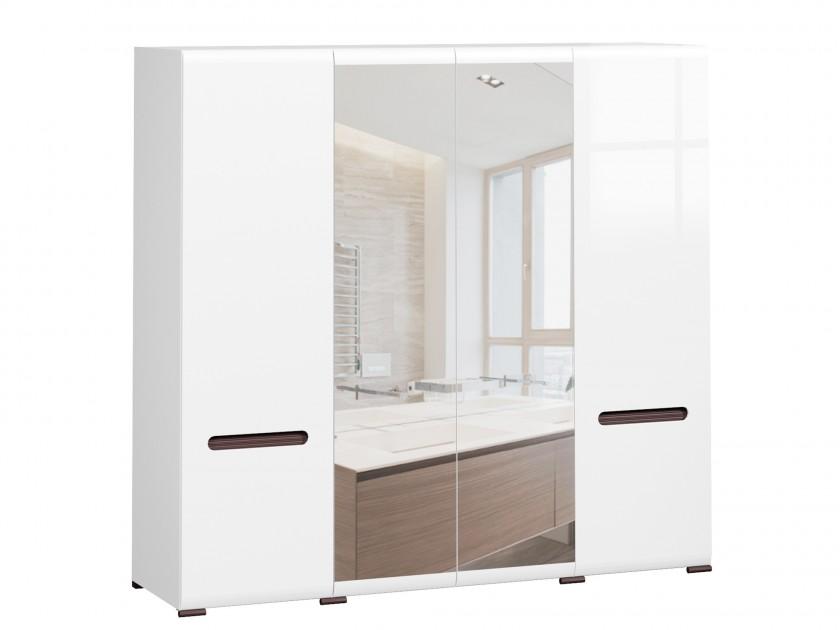 Фото - распашной шкаф Шкаф Ацтека Ацтека Белый Блеск шкаф навесной для прачечной распашной итана 600х388х400 белый
