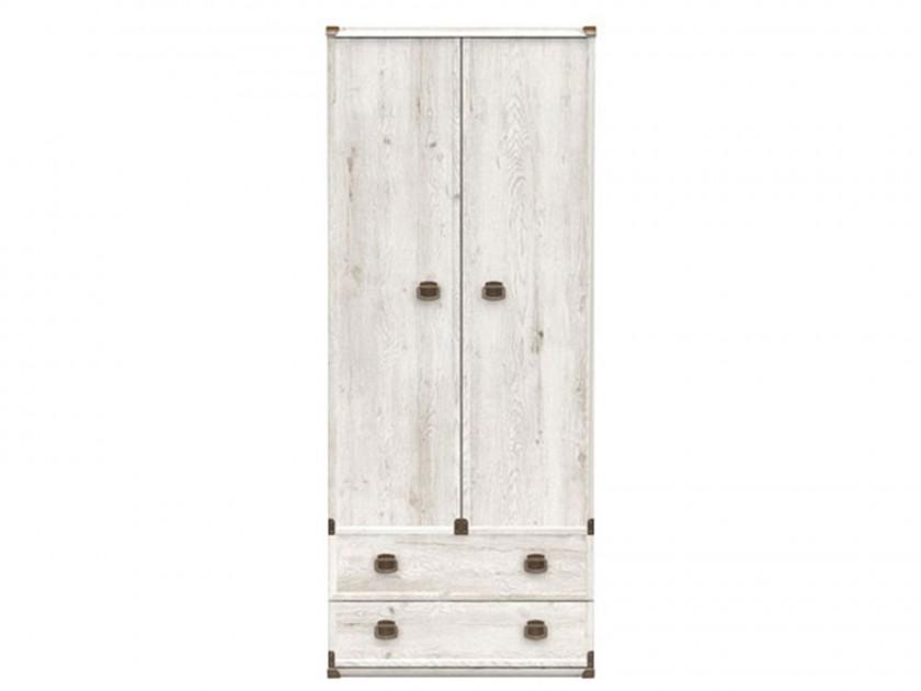 распашной шкаф Шкаф с полками Индиана Индиана в цвете Сосна Каньйон