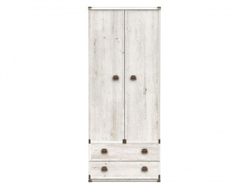 распашной шкаф Шкаф со штангой Индиана Индиана в цвете Сосна Каньйон