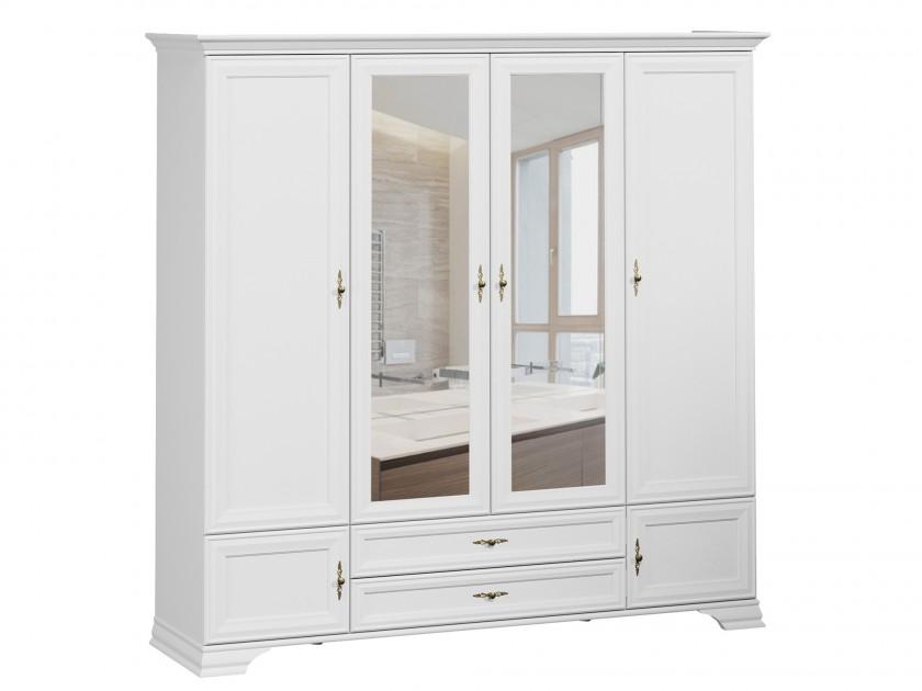 распашной шкаф Шкаф Кентаки Кентаки Белый недорого