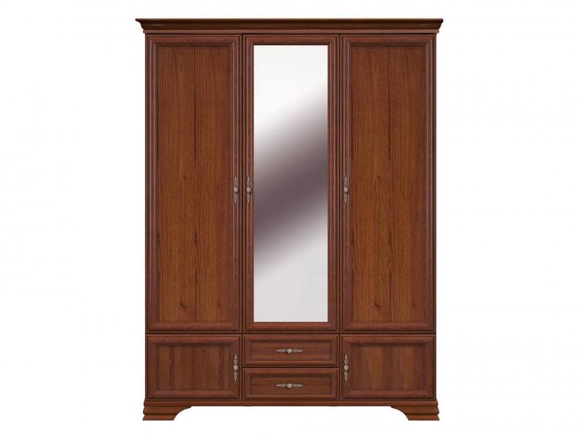 шкаф Шкаф 3-х дверный Кентаки Кентаки Каштан недорого