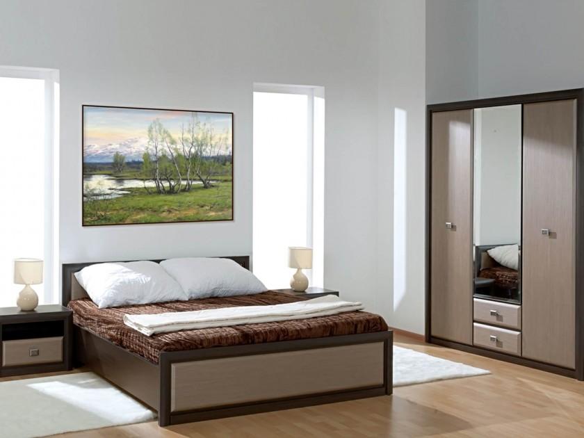 спальный гарнитур Спальня Коен Штрокс темный