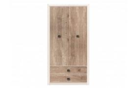 Распашной шкаф Коен Ясень Снежный