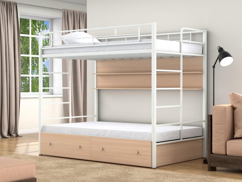 кровать Двухъярусная кровать Валенсия Твист (120х190) Валенсия Твист