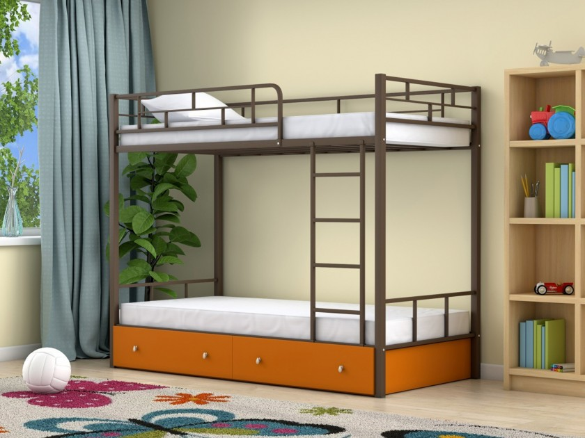 Двухъярусная кровать Ницца (90х190) Ницца (90х190)