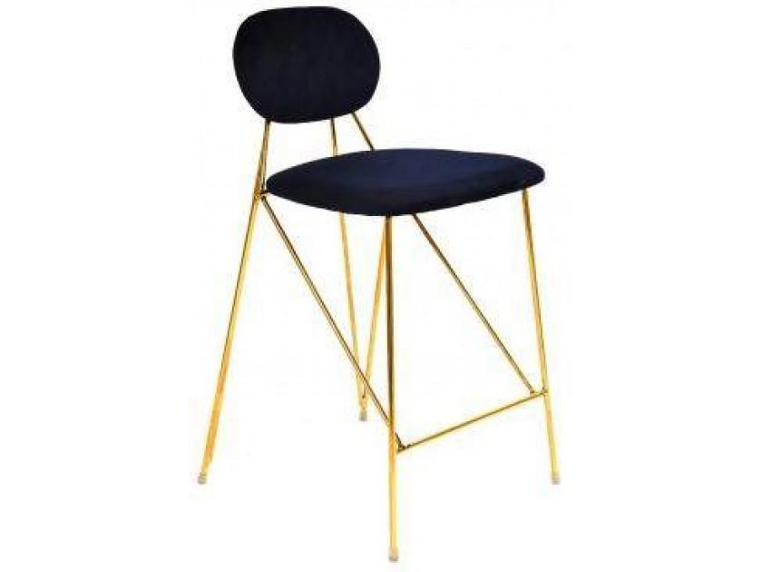 табурет Барный стул Stool Group Элис темно-синий [FDC8001 MIDNIGHT BLUE FUT-78] gramercy стул барный lark counter stool page 3