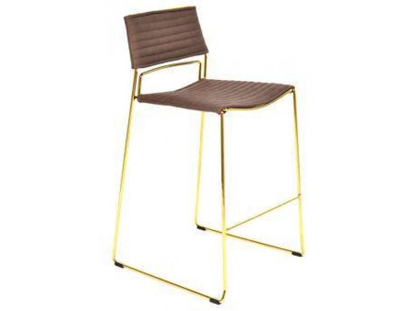 цена табурет Барный стул Stool Group Дэйзи коричневый [FDC8051 PU BROWN] онлайн в 2017 году