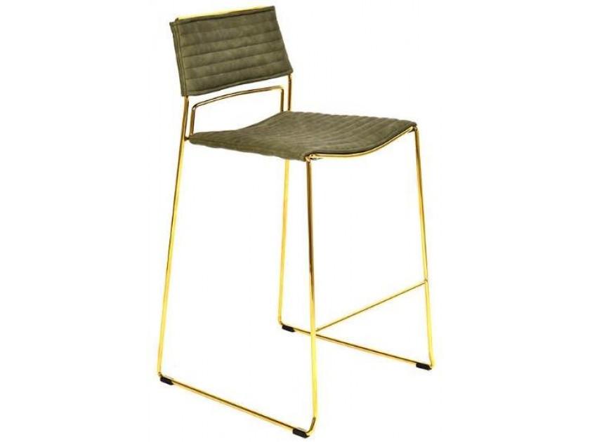 табурет Барный стул Stool Group Дэйзи зеленый [FDC8051 PU GREEN] gramercy стул барный lark counter stool page 3