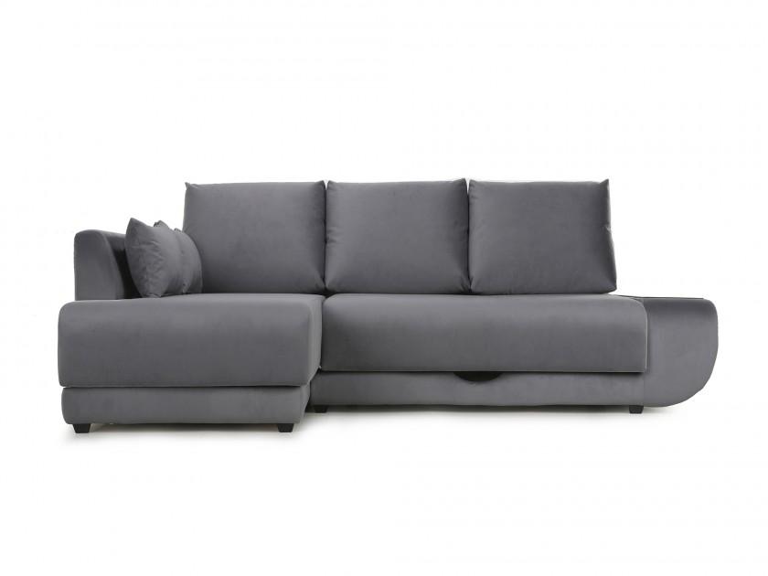 диван Угловой диван с независимым пружинным блоком Поло ПБ (Нью-Йорк) Левый Поло (Нью-Йорк)