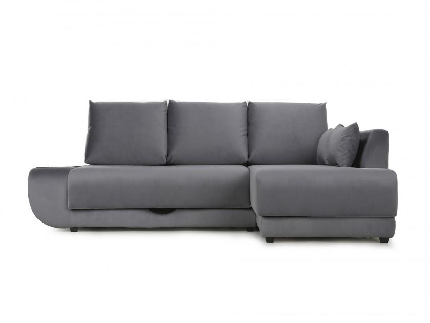 диван Угловой диван с независимым пружинным блоком ПолоLUXНПБ (Нью-Йорк) Правый Поло (Нью-Йорк)