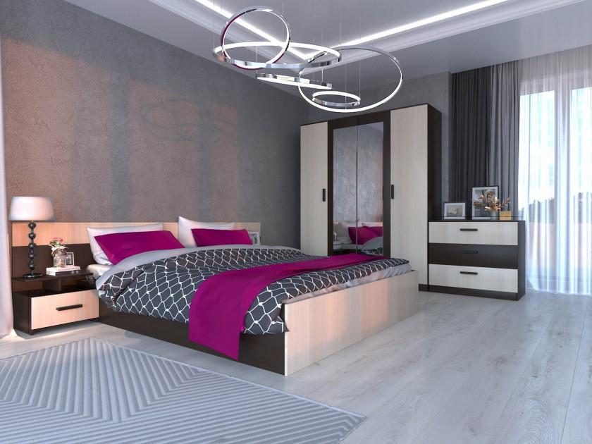 Спальня Виктория Виктория в цвете Венге