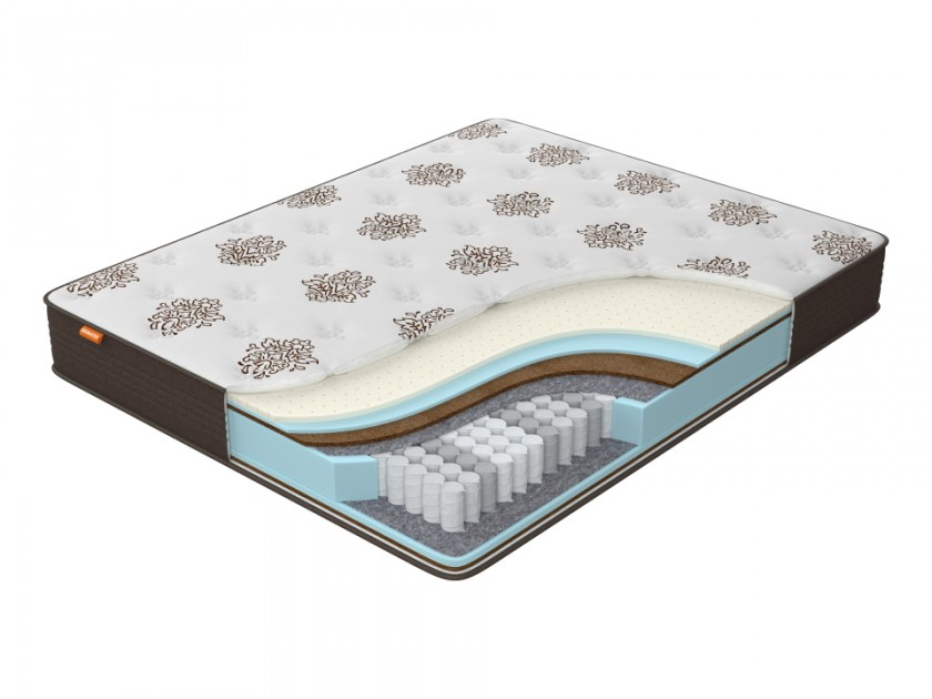 матрас Матрас Орматек Comfort Duos Middle/Hard (Brown) 120x220 Comfort Duos Middle/Hard ботинки zenden comfort zenden comfort ze011awchsf6