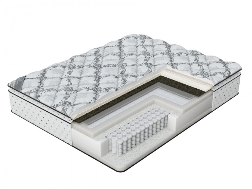матрас Матрас Verda Balance Pillow Top (Silver Lace/Anti Slip) 120x195