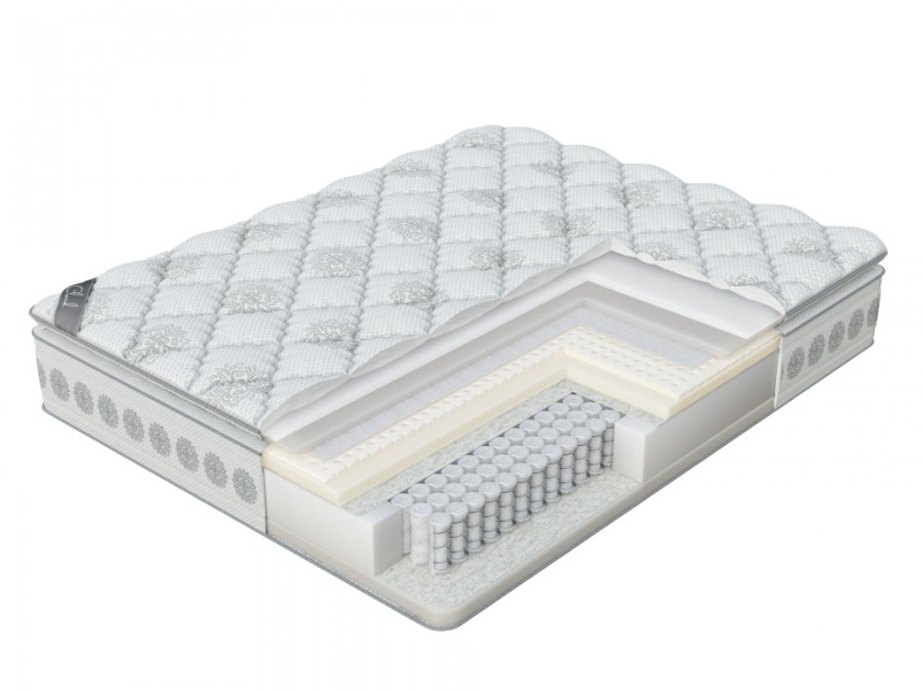 матрас Матрас Verda Verda Cloud Pillow Top (Frostwork/Anti Slip) 200x210 Verda Cloud Pillow Top oodji 73212401b 45641 7900n