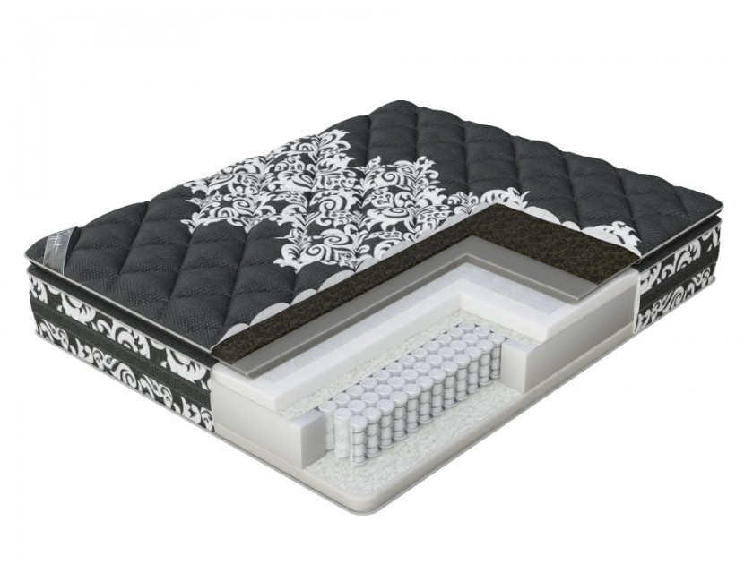 матрас Матрас Verda Support Pillow Top (Black Orchid/Anti Slip) 160x195