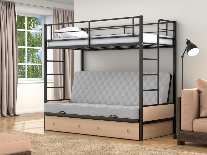 кровать Двухъярусная кровать диван Дакар 1 (90х190/120х190) Дакар 1 (90х190/120х190)