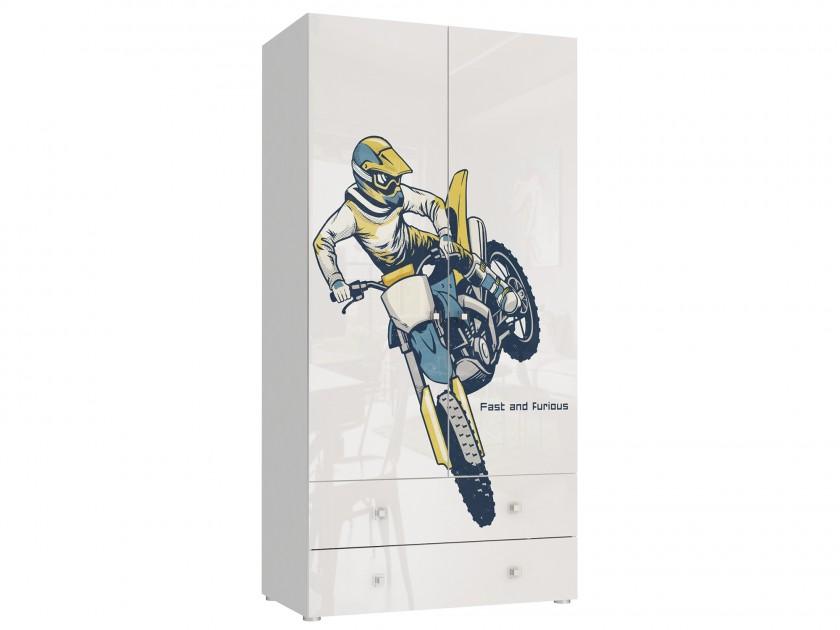 распашной шкаф Шкаф 2-х дверный с ящиками Модерн Квадро Модерн Квадро