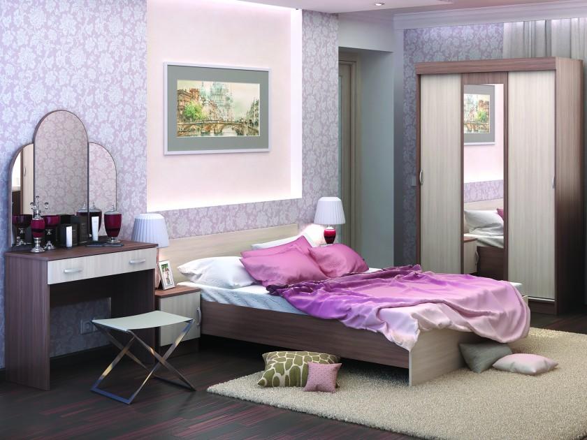 спальный гарнитур Спальня Бася Бася в цвете Шимо темный