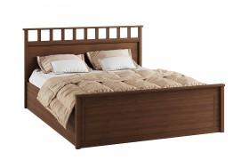 Кровать Ричард цвете Орех донской