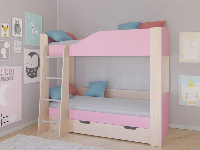 кровать Кровать двухъярусная Астра 2 Астра 2 кровать кровать двухъярусная астра 4 астра 4