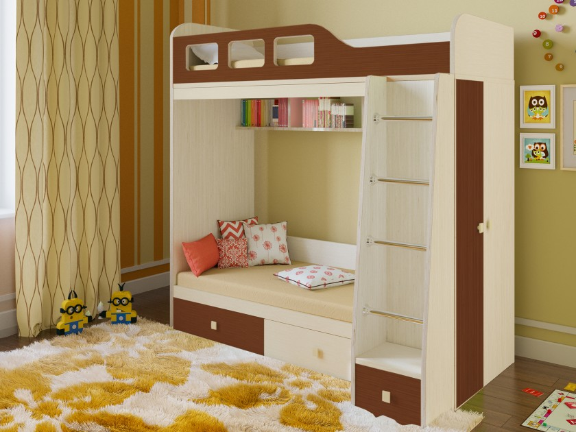 кровать Кровать двухъярусная Астра 3 Астра 3