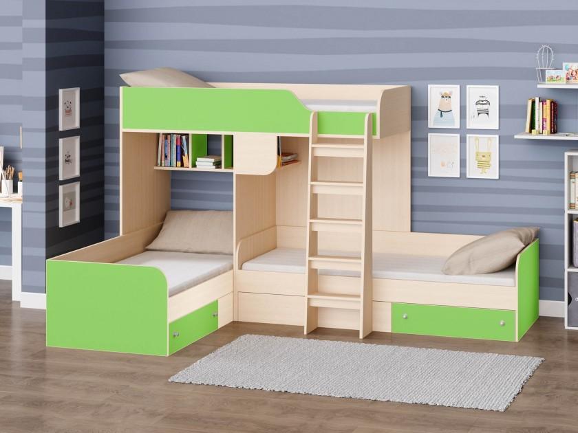 кровать Кровать двухъярусная Трио Трио