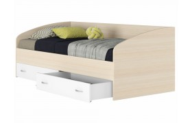 Кровать с матраом ГОСТ Уника (90х200)