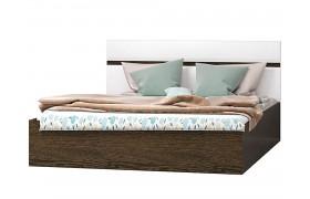 Кровать Николь цвете Белый глянец