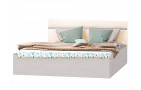 Кровать Николь цвете Кофе с молоком